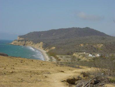 The Ecuadorian coast