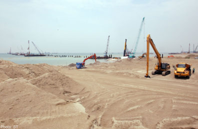 Work in progress at the PIPC site