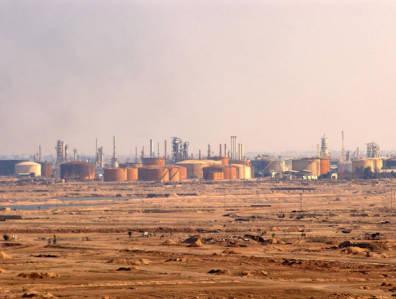 Basrah oil refinery
