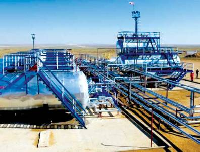 Zharkamys West 1 Project: Horizontal drilling in Kazakhstan