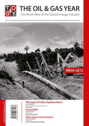 The Oil & Gas Year India 2012 Book Cover
