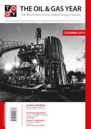 The Oil & Gas Year Colombia 2014 Book Cover