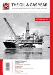 The Oil & Gas Year Azerbaijan 2013 Cover