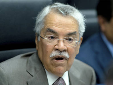 The global oil demand is growing and the market is becoming calmer, Saudi Arabia's Oil Minister Ali Al Naimi said