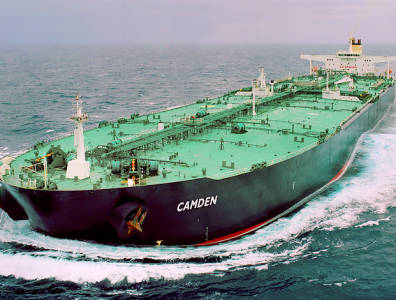 Very large crude carriers speed up as the price of oil drops
