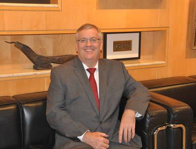 Murphy Oil vice-president for Malaysia John James