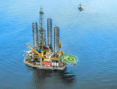 Rig belonging to Hercules Offshore