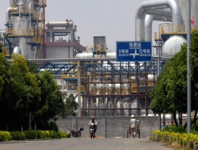 Chinese oil imports are down