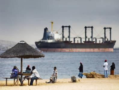 Angola oil tanker