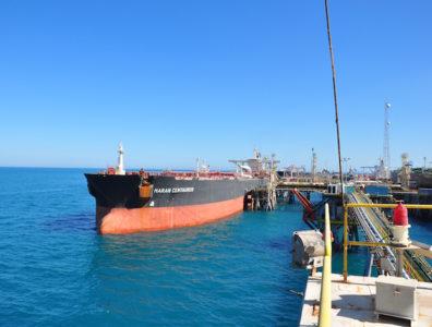 Iraq oil tanker