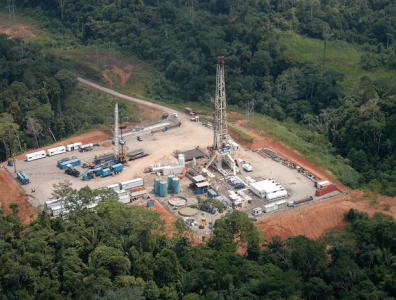 Light oil is discovered through a wildcat well in Ecuador