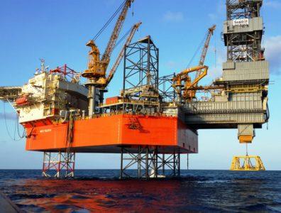 West Telesto oil rig