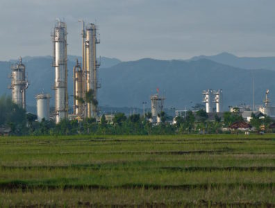 Indonesia as of 2013 was the 24th largest producer of crude worldwide, accounting for 1 percent of total world production.
