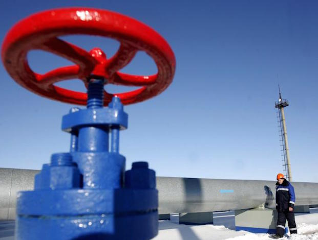 Gas pipeline handle