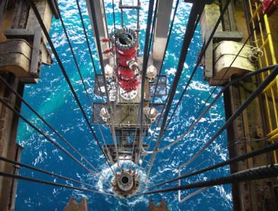 Offshore rig Abu Dhabi