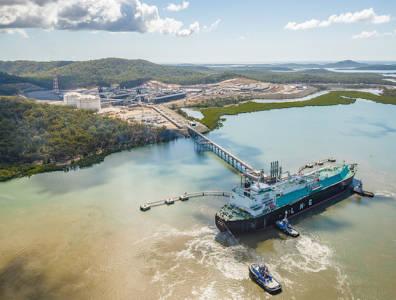 Santos LNG cargo