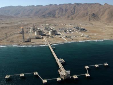 LNG terminal Oman