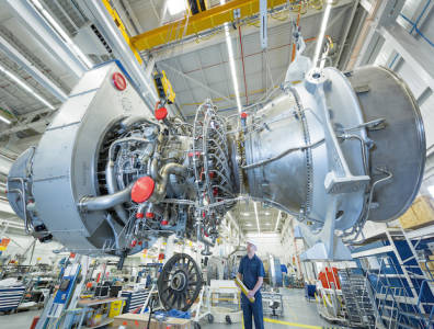 Siemens gas power plant