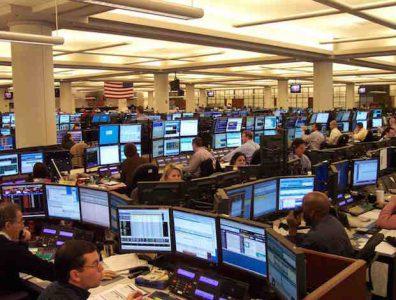 Energy market traders