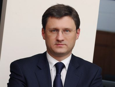 Alexander Novak, Minister of Energy of the Russian Federation