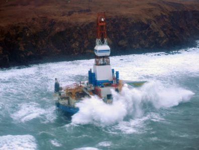 BP partially evacuated its Valhall platform in Norway's North Sea on Thursday after a storm caused a barge to break its anchor.