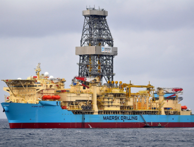 Maersk Viking drillship Gabon Petronas