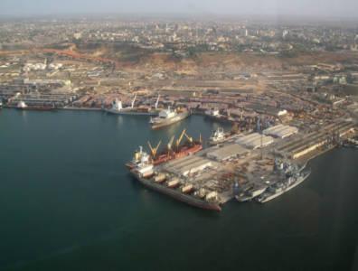 Cabinda Angola port refinery
