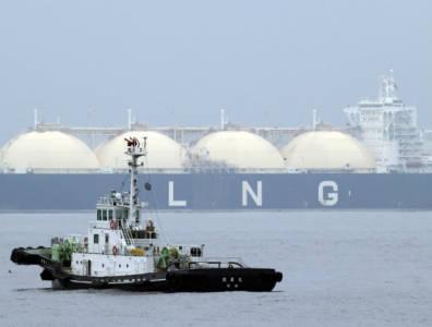 LNG stock photo