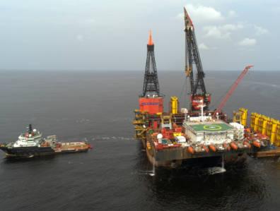 Congo offshore rig