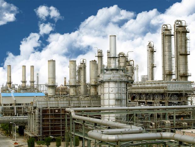 Petrochemical plant