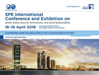 SPE Health, Safety, Security, Enviroment and Social Responsibility 2018