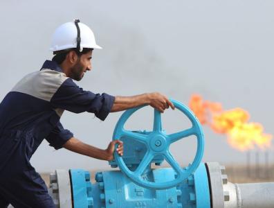 Oilfield stock picture