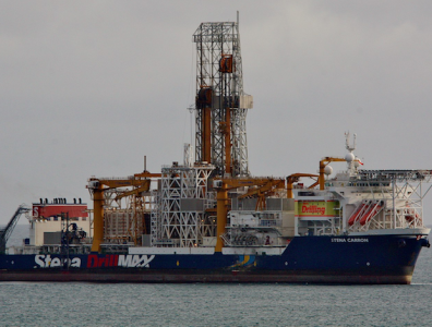 ExxonMobil drillship Stena Carron