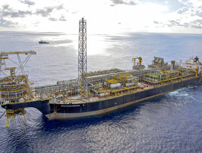 FPSO Kwame Nkrumah in the Jubilee Oilfieds offshore Ghana