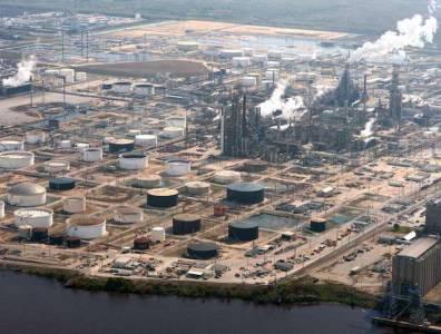 Beaumont Refinery Texas