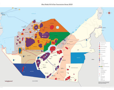 Abu Dhabi Oil and Gas Concessions 2019