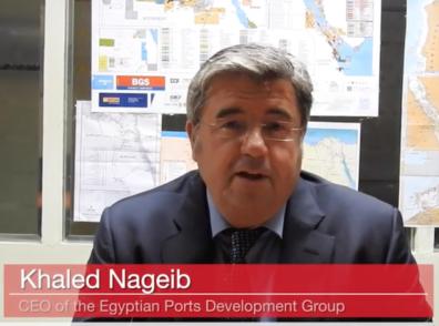 Khaled Nageib, CEO of Egyptian Ports Development Group (EPDG)