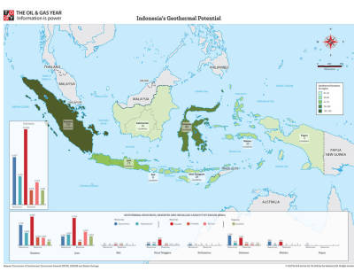 Indonesia's Geothermal Potential Map