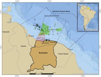 Suriname bid round