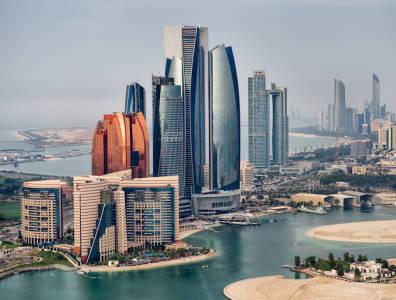 Abu Dhabi city UAE