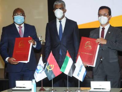 Luanda port DP World signing