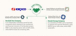 Barakah Nuclear Energy Plant Organogram
