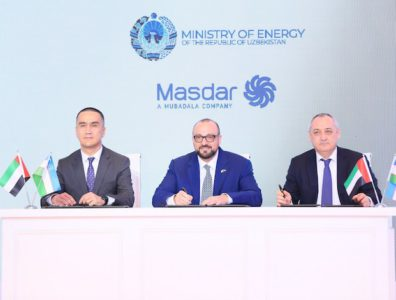 renewables developer Masdar has signed an agreement with the Government of Uzbekistan to build a 500MW wind project